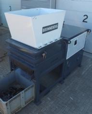 Trituradora de motor Bronneberg