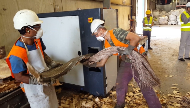 telephone cable recycling