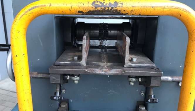 Used Bronneberg cable stripper Type Kab-90